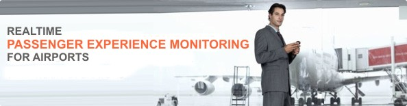 Realtime passenger experience monitoring banner