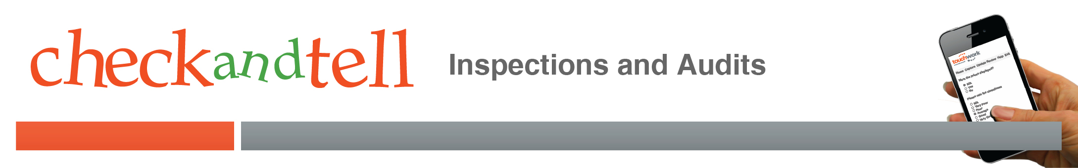 CheckandTell Inspections and Audits logo